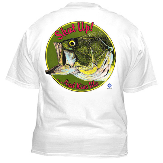 largemouth bass t shirt