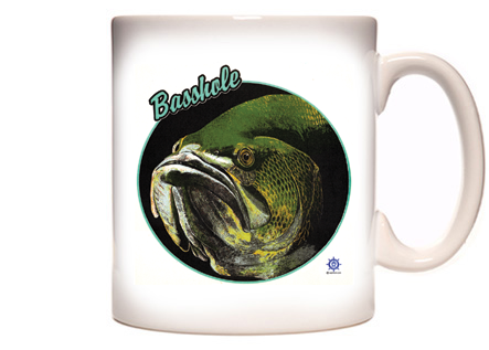 Basshole Coffee Mug