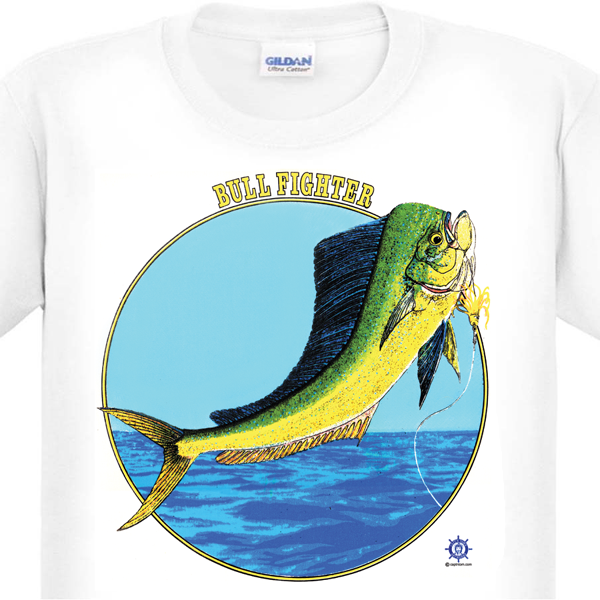 Dolphin Fishing T-Shirt