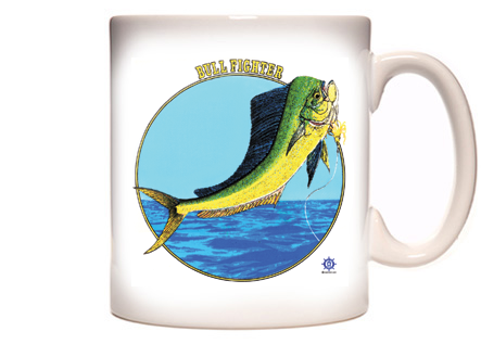 Dolphin Fishing Coffee Mug