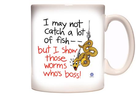 Funny Fishing Coffee Mug