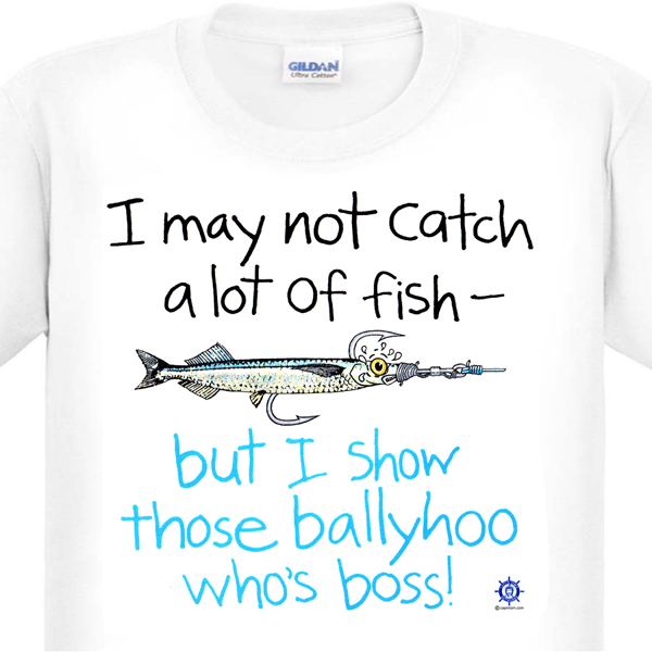 b35957fd A Funny Fishing T-Shirt by Capt'n Tom's Artworks - 400+ cool t ...