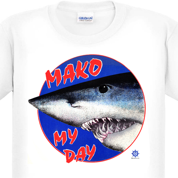 mako shark fishing T-Shirt