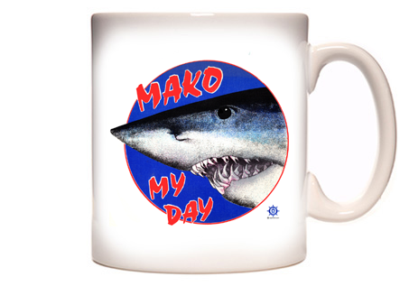 mako shark Fishing Coffee Mug