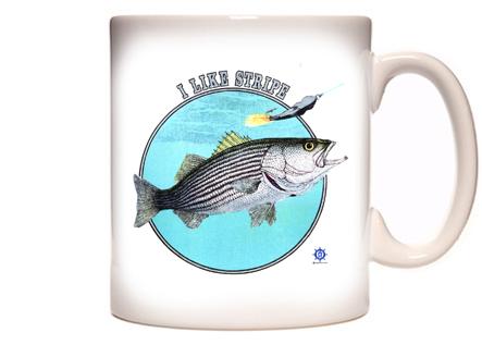 Striper Fishing Coffee Mug