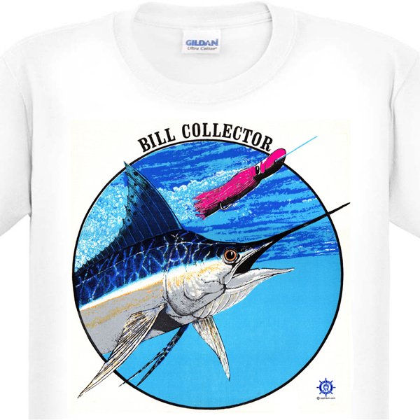 Blue Marlin Fishing T-Shirt
