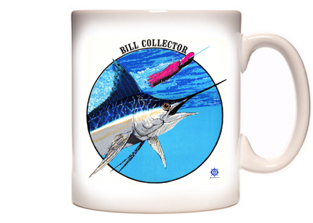 Blue Marlin Fishing Coffee Mug