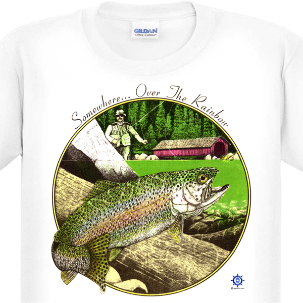Rainbow Trout Fishing T-Shirt