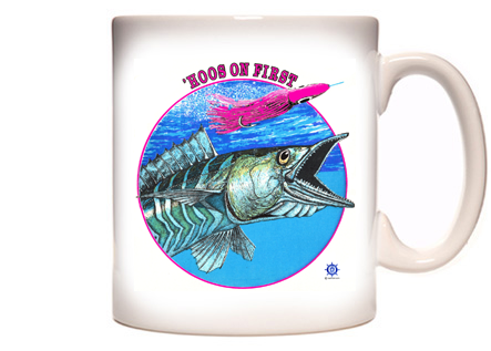Wahoo Fishing Coffee Mug