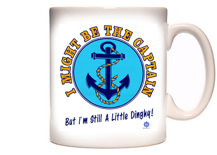 Funny Boating Coffee Mug