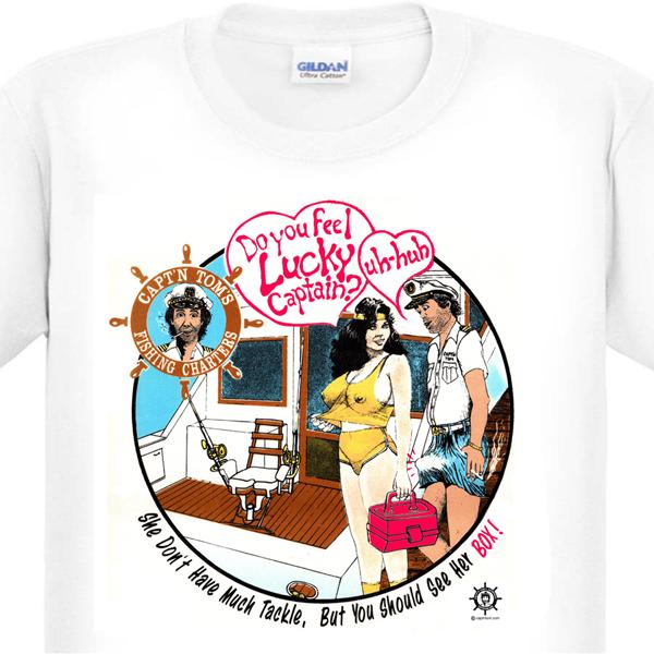 Feel Lucky Captain? T-Shirt