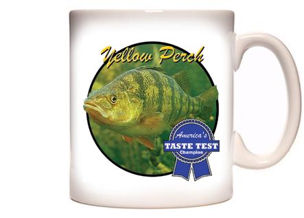 Yellow Perch Coffee Mug