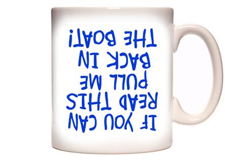 Funny Fishing & Boating Coffee Mug