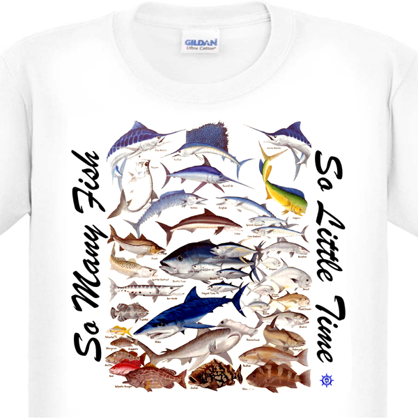 Saltwater Fishing T-Shirt