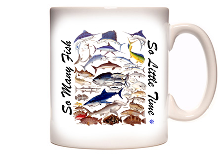 Saltwater Fishing Coffee Mug
