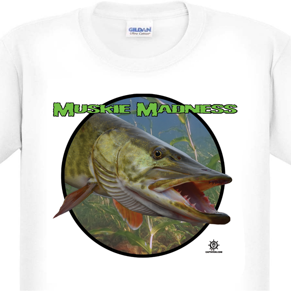 Muskie Fishing T-Shirt