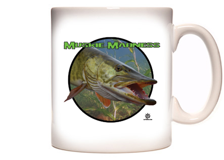 Muskie Fishing Coffee Mug