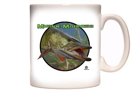 Muskie Fishing Coffee Mug