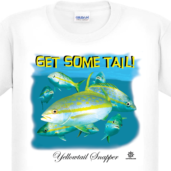 Yellowtail Fishing T-Shirt