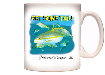 Yellowtail Fishing Coffee Mug