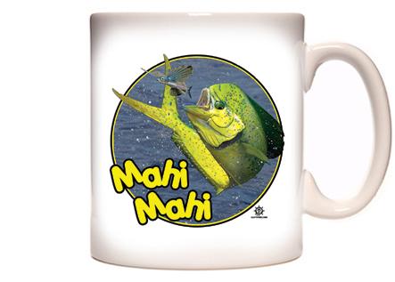 Dolphin Fishing Coffee Mug