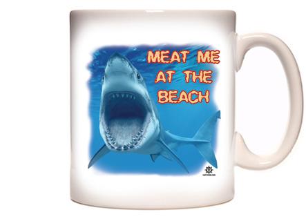 Funny Beach Coffee Mug