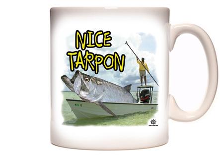 Funny Tarpon Fishing Coffee Mug