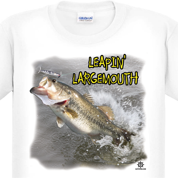 Largemouth Bass Fishing T-Shirt