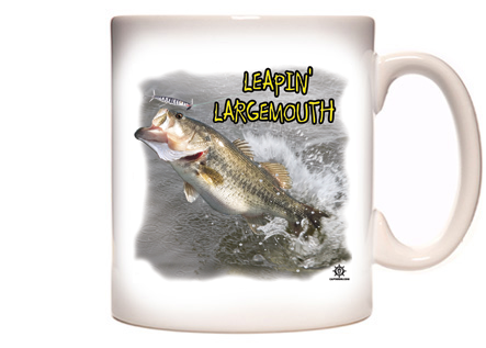Largemouth Bass Fishing Coffee Mug