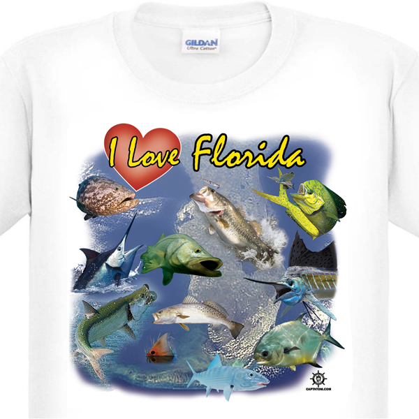 Florida Fishing T-Shirt