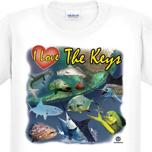 Florida Keys Fishing T-Shirt