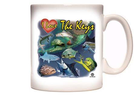 Florida Keys Fishing Coffee Mug