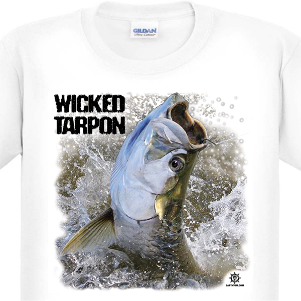Tarpon Fishing T-Shirt