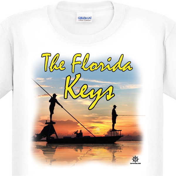 Florida Keys Flats Fishing T-Shirt