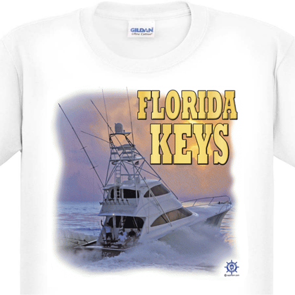 Florida Keys Offshore Fishing T-Shirt