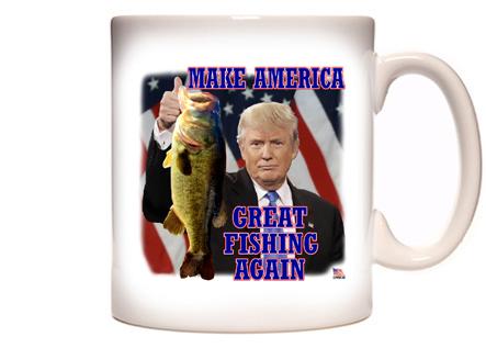Make America Great Fishing Again Coffee Mug