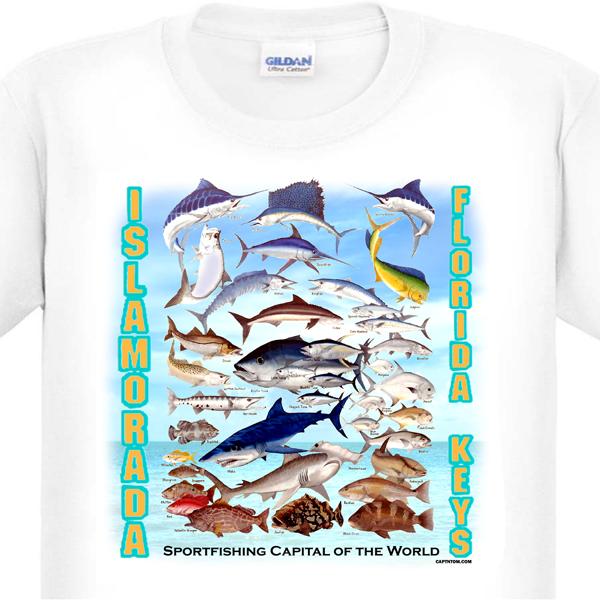 Islamorada Florida Keys Fishing T-Shirt