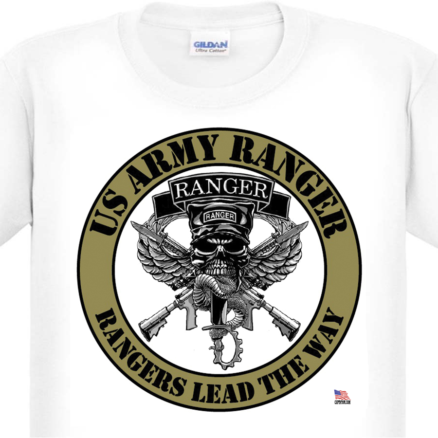 Army Ranger T Shirt By Capt N Tom S Artworks 400 Cool T Shirts Here