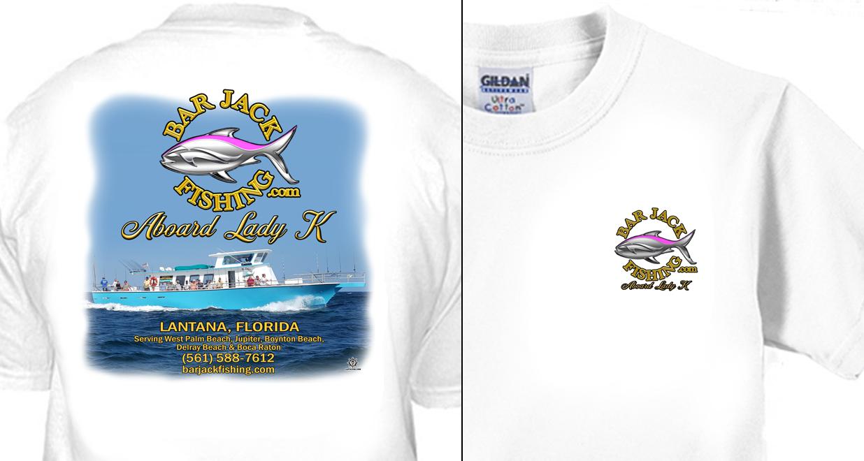 Bar Jack Fishing Aboard Lady K