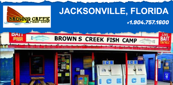 BROWN'S CREEK FISH CAMP - BAIT & TACKLE