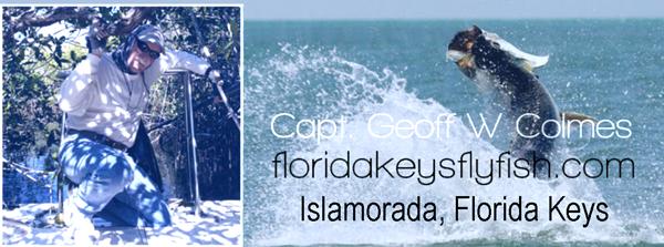 Captain Geoff Colmes Flyfishing The Florida Keys