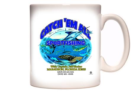 Catch 'Em All Sportfishing Coffee Mug