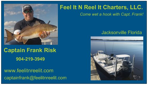 feel it reel it charters