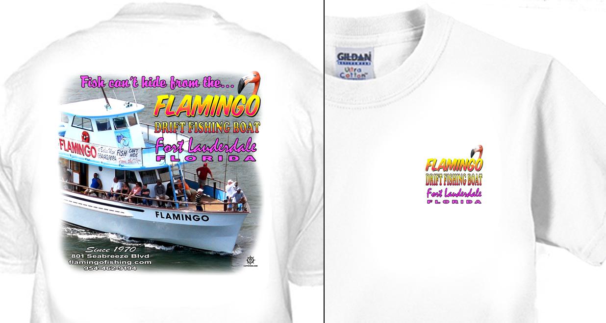 Flamingo Drift Fishing Boat