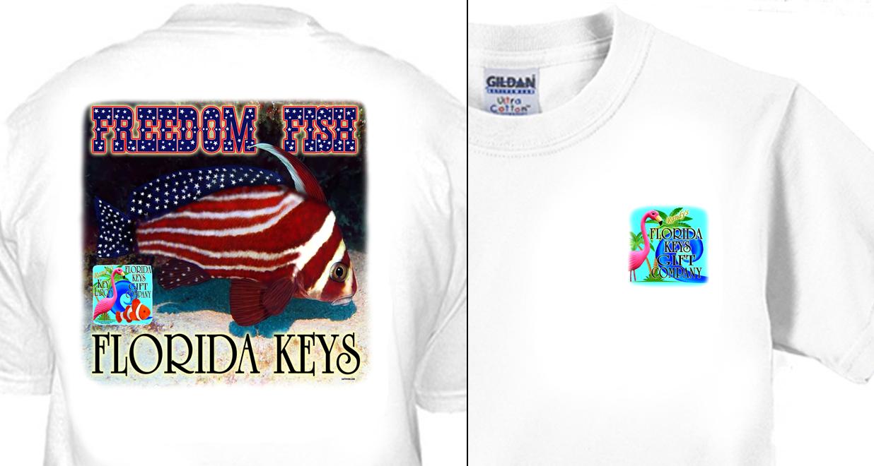 Randy's Florida Keys Gift Company Freedom Fish
