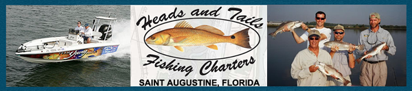 HEADS & TAILS LIGHT TACKLE FISHING CHARTERS