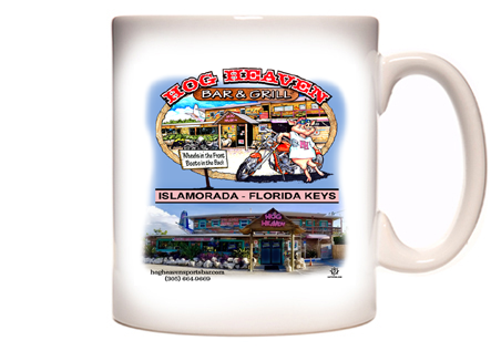 Hog Heaven Sports Bar Coffee Mug