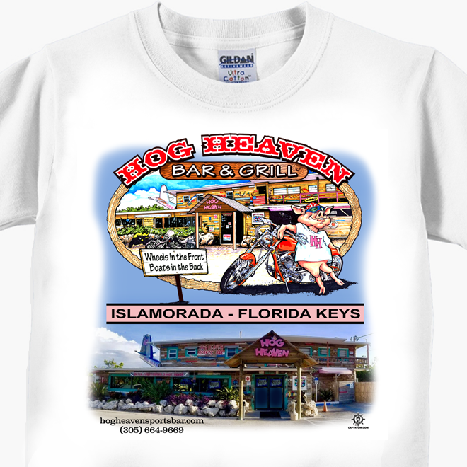 Hog Heaven Sports Bar T-Shirt