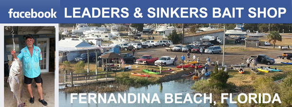 LEADERS & SINKERS BAIT SHOP