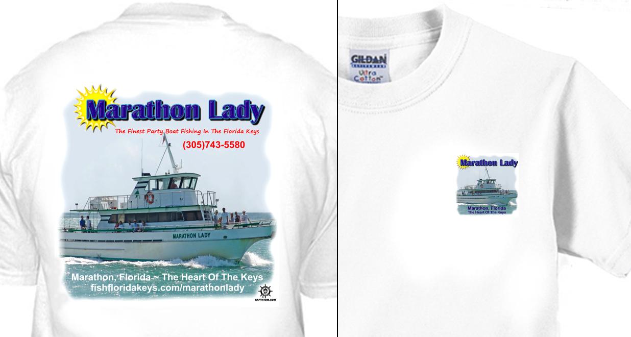 Marathon Lady Partyboat